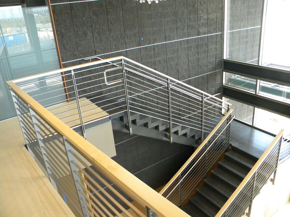 DC Ranch. Stainless steel railing and cable.